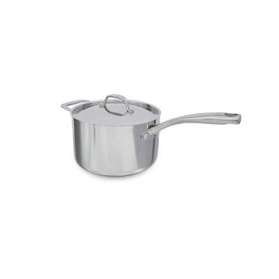 SAUCE PAN, 4 QT, INDUCTION, WITH LID