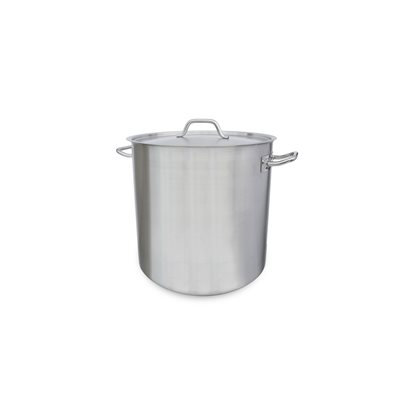 STOCK POT, 53 QT, INDUCTION, WITH LID
