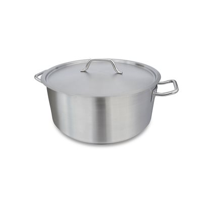 BRAZIER, 24 QT, INDUCTION, WITH LID